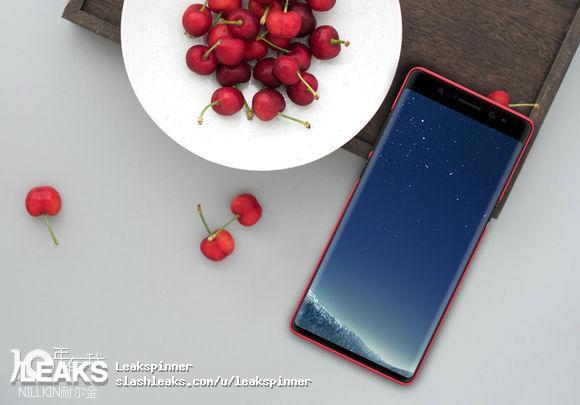 Nueva imagen del próximo Galaxy Note 8 lo muestra con un bisel superior extra grande