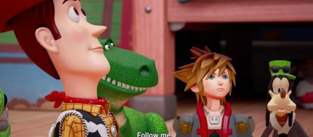 Tráiler de Kingdom Hearts 3 revela la existencia del mundo de Toy Story